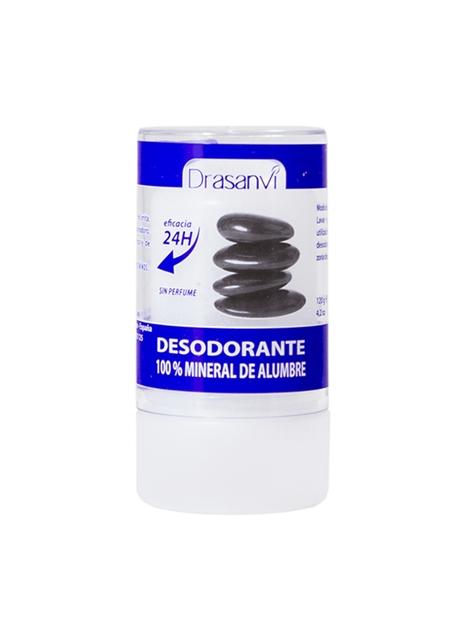 Desodorante Mineral de Alumbre 120 g Drasanvi