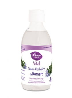 Tónico Alcohólico Romero 250 ml El Granero Integral