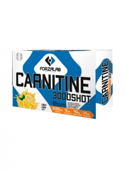Carnitine 3000 Shot ForzaLab 20 ampollas Dietmed