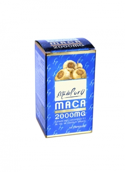 Maca Estado Puro 60 cápsulas 2000 mg Tongil