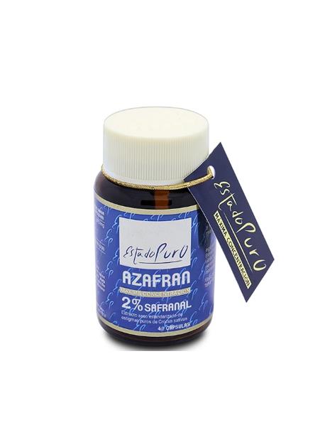 Azafrán 2% Safranal Estado Puro 40 cápsulas Tongil