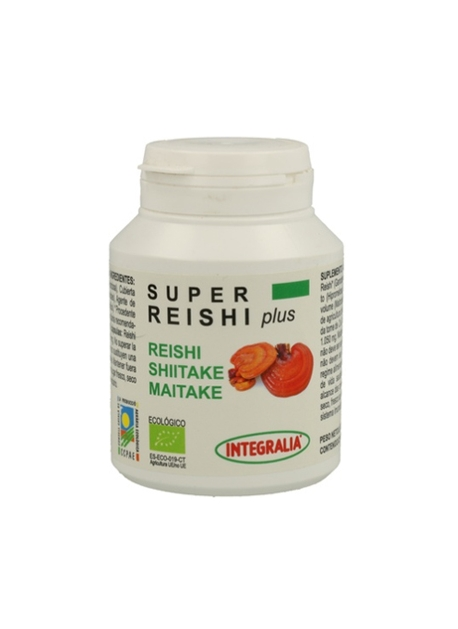 Super Reishi Plus Ecológico 90 cápsulas Integralia