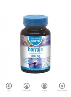 Borraja Naturmil 30 perlas 1000 mg Dietmed