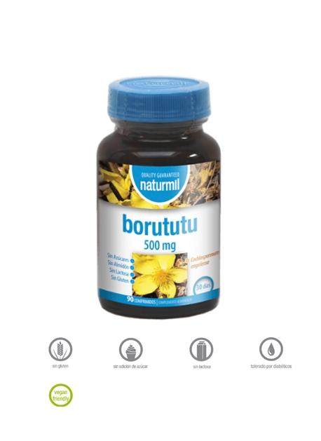 Borututu Naturmil 90 comprimidos Dietmed