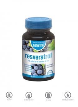 Resveratrol Naturmil 60 cápsulas Dietmed