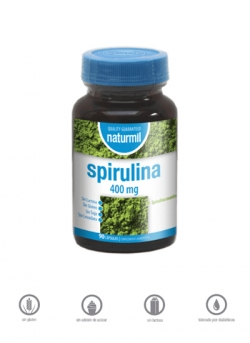 Spirulina Naturmil 90 cápsulas Dietmed