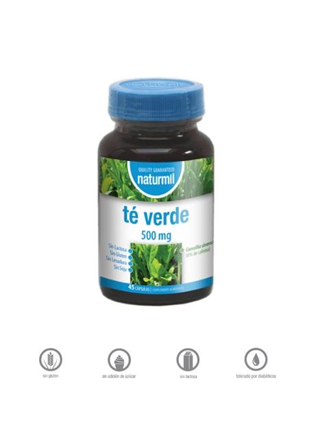 Té Verde Naturmil 45 capsulas 500 mg DietMed