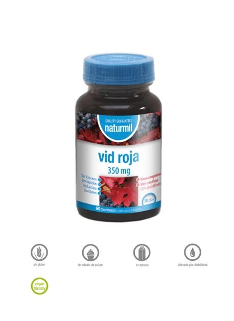 Vid Roja Naturmil 60 comprimidos Dietmed