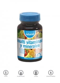 Multivitaminas y Minerales Naturmil 30 perlas Dietmed