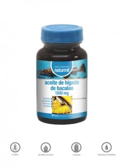 Aceite de Hígado de Bacalao Naturmil 45 perlas 1000 mg Dietmed