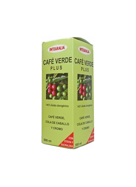 Café Verde Plus Jarabe 500 ml Integralia