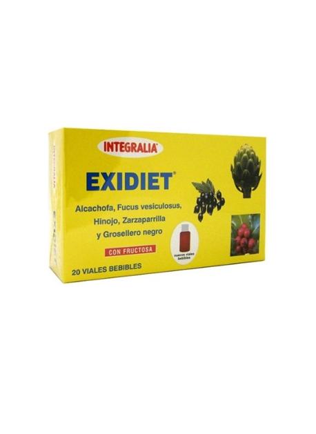 Exidiet Viales 20 viales Integralia