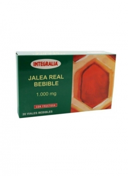 Jalea Real Bebible 20 viales 1000 mg Integralia