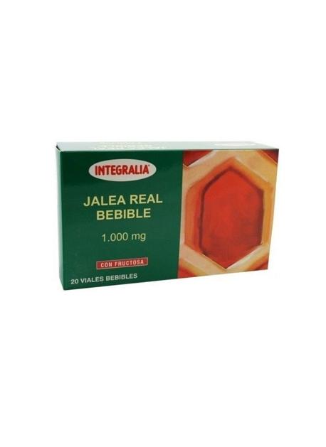 Jalea Real Bebible 20 viales 1000 mg Integralia