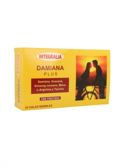 Damiana Plus 20 viales Integralia