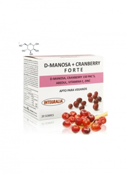 D-Manosa + Cranberry Forte 20 sobres Integralia