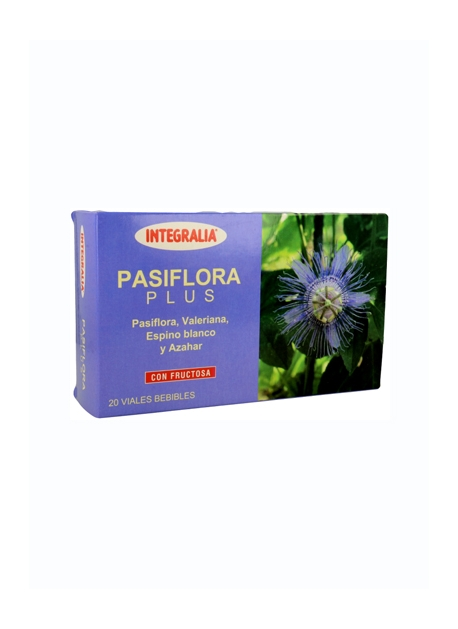 Pasiflora Plus 20 viales Integralia