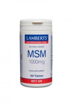 MSM 120 comprimidos 1000 mg Lamberts