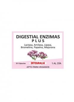 Digestial Enzimas Plus 30 capsulas Integralia
