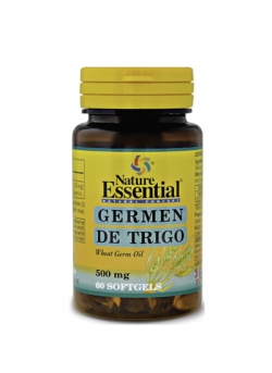 Germen de Trigo 60 perlas 500 mg Nature Essential