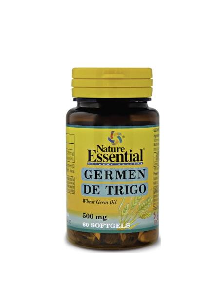 Germen de Trigo 60 perlas 500 mg Nature Essential