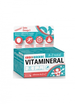 Vitamineral A-Z Total 30 capsulas Dietmed