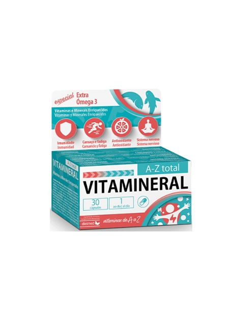 Vitamineral Strong 15 ampollas Dietmed