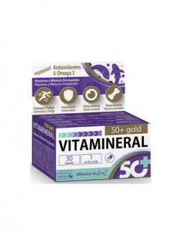 Vitamineral 50+ Gold 30 cápsulas Dietmed