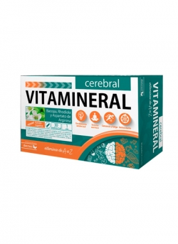 Vitamineral Cerebral 30 ampollas 15 ml Dietmed