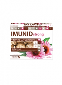 Imunid Strong + Equinacea 30 comprimidos Dietmed