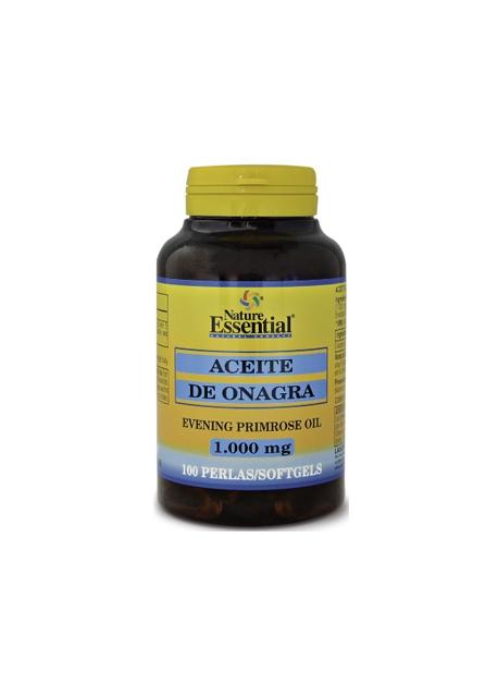 Aceite de Onagra + Vitamina E 100 perlas 1000 mg Nature Essential