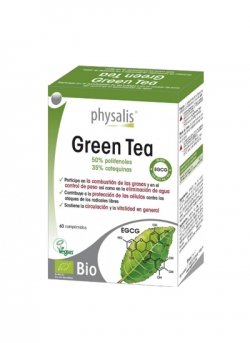 Green Tea 60 comprimidos Physalys