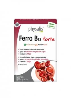 Ferro B12 Forte 45 comprimidos Physalis