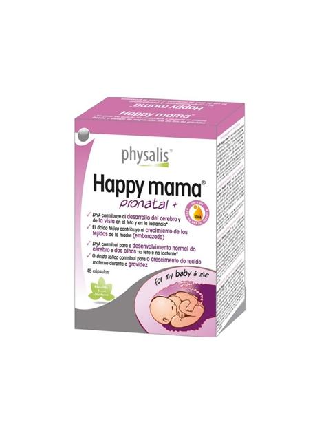 Happy Mama Pronatal+ 30 comprimidos Physalis
