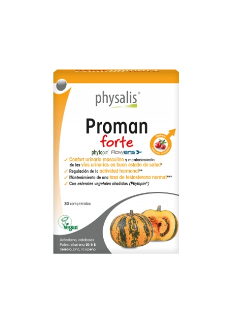 Proman Forte 30 comprimidos Physalis