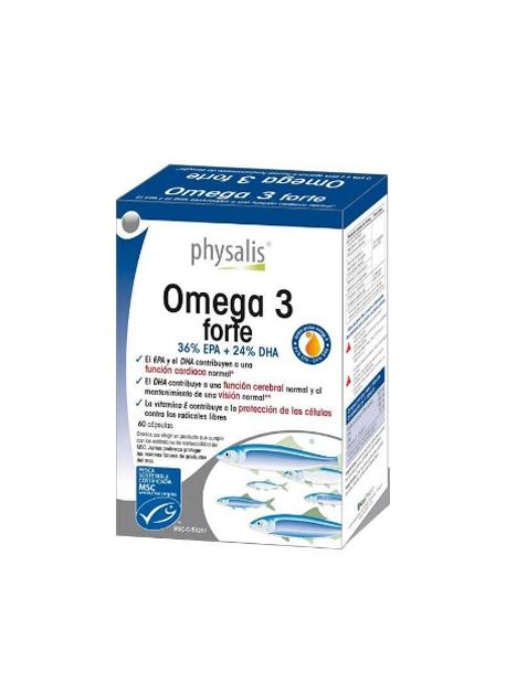 Omega 3 Forte 60 cápsulas Physalis