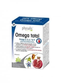 Omega Total 30 cápsulas Physalis