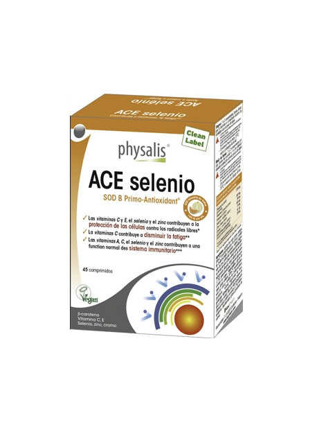 ACE Selenio 45 comprimidos Physalis