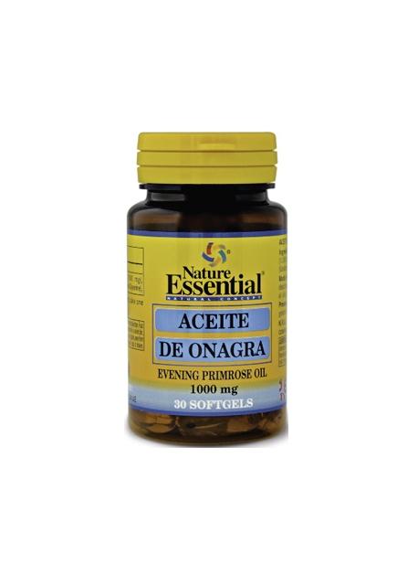 Aceite de Onagra + Vitamina E 30 perlas 1000 mg Nature Essential