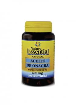 Aceite de Onagra + Vitamina E 100 perlas 500 mg Nature Essential