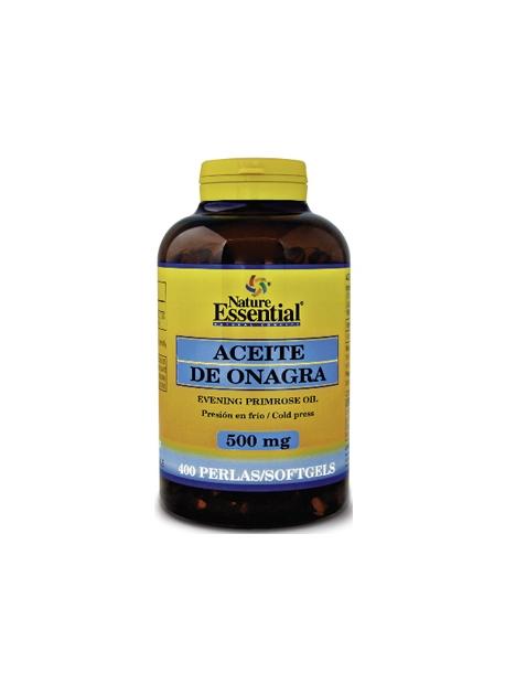 Aceite de Onagra + Vitamina E 400 perlas 500 mg Nature Essential