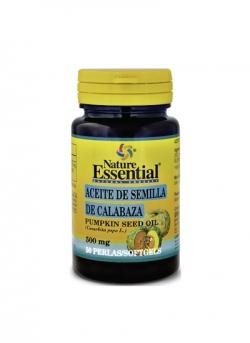 Aceite de Semilla de Calabaza 50 perlas 500 mg Nature Essential
