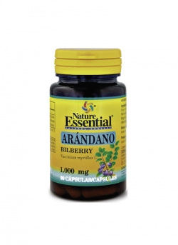 Arándano 50 cápsulas 1000 mg Nature Essential