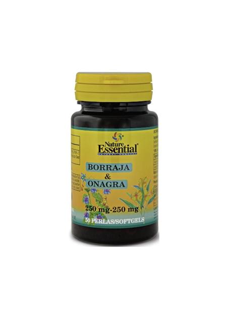 Borraja + Onagra 50 perlas Nature Essential