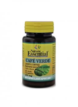 Café Verde 60 cápsulas 200 mg Nature Essential