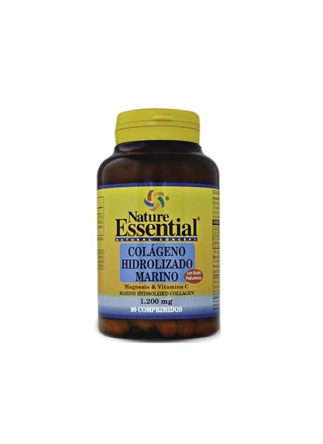 Colágeno Marino Hidrolizado con Magnesio 90 comprimidos Nature Essential