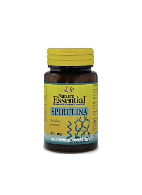 Spirulina 100 comprimidos 400 mg Nature Essential