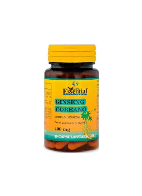 Ginseng Koreano 50 cápsulas 400 mg Nature Essential