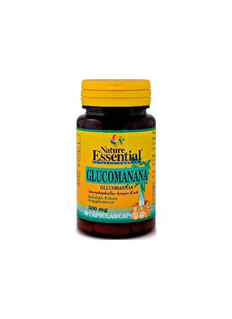 Glucomanana 50 cápsulas 500 mg Nature Essential