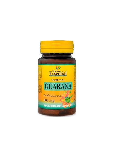 Guaraná 50 cápsulas 600 mg Nature Essential